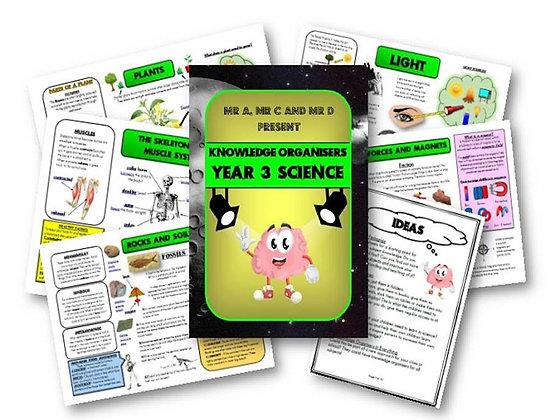 Year 3 - Science Knowledge Organisers
