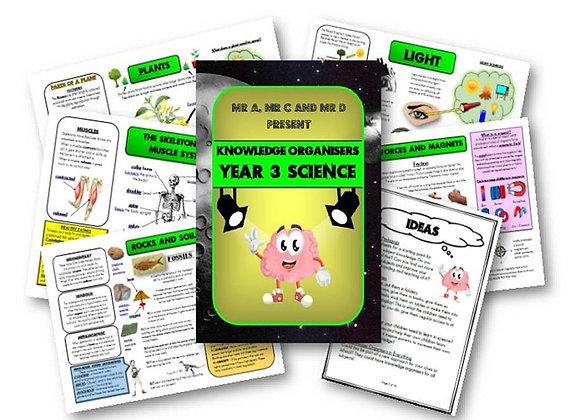 Year 3 - Science Knowledge Organiser