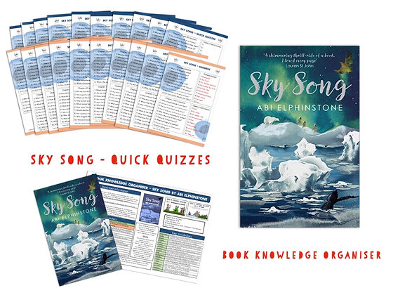 Sky Song - Book Knowledge Organiser and Quick Quizzes