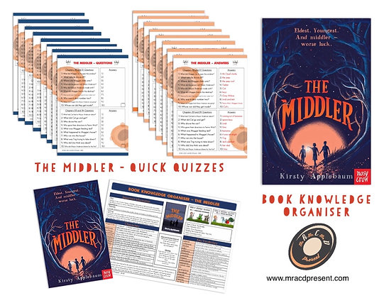 The Middler - Knowledge Organiserand Quick Quizzes