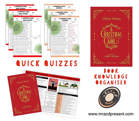 A Christmas Carol - Knowledge Organiser and Quick Quizzes