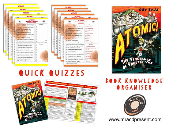 Atomic - Knowledge Organiser and Quick Quizzes