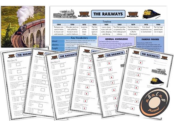 Railways - Knowledge Organiser and Mini-Quizzes