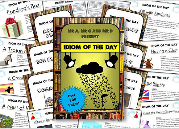 An Idiom a Day Pack (200 Posters!)
