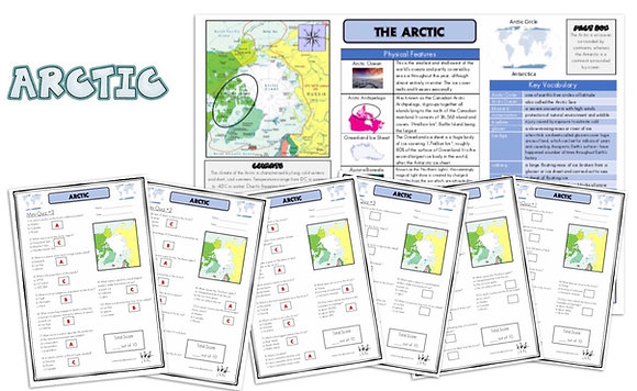 Arctic - Knowledge Organiserand Mini-Quizzes