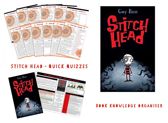 Stitch Head - Book Knowledge Organiser and Quick Quizzes