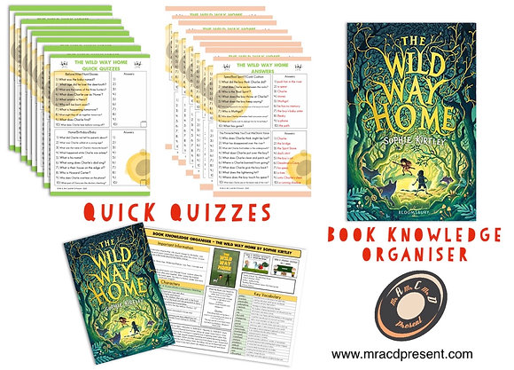 The Wild Way Home - Book Knowledge Organiser and Quick Quizzes