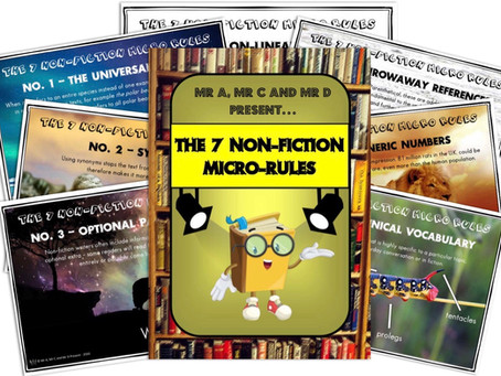 The 'Series of 7' (7 Micro-Rules of Non-Fiction)