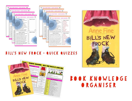 Bill's New Frock - Knowledge Organiser and Quick Quizzes