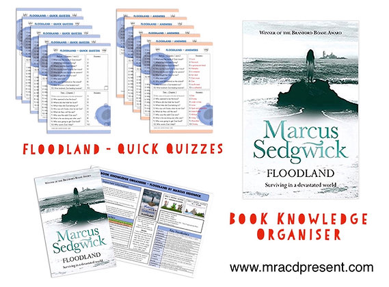 Floodland - Book Knowledge Organiser and Quick Quizzes
