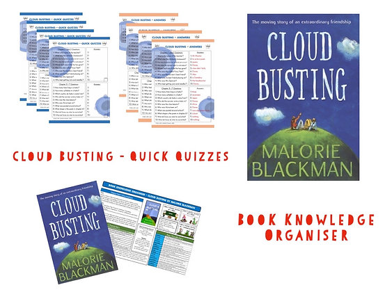 Cloud Busting - Book Knowledge Organiser and Quick Quizzes