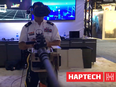 HapTech is Aiming its Electromagnetic Haptics at Military VR Training