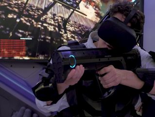 OptiTrack Active VR makes for a more mobile zombiepocalypse