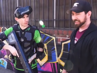 Striker VR's Arena Infinity Unboxing on set of Max Reload & The Nether Blasters!