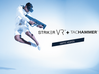 Striker VR Reveals New Haptic Units Based on Magnetic Suspension
