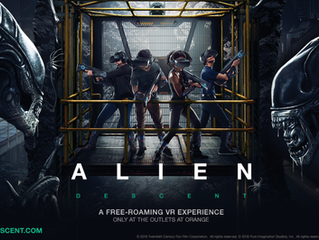 Alien: Descent Is A Xenomorph-Slaying Four-Player Location-Based VR Experience