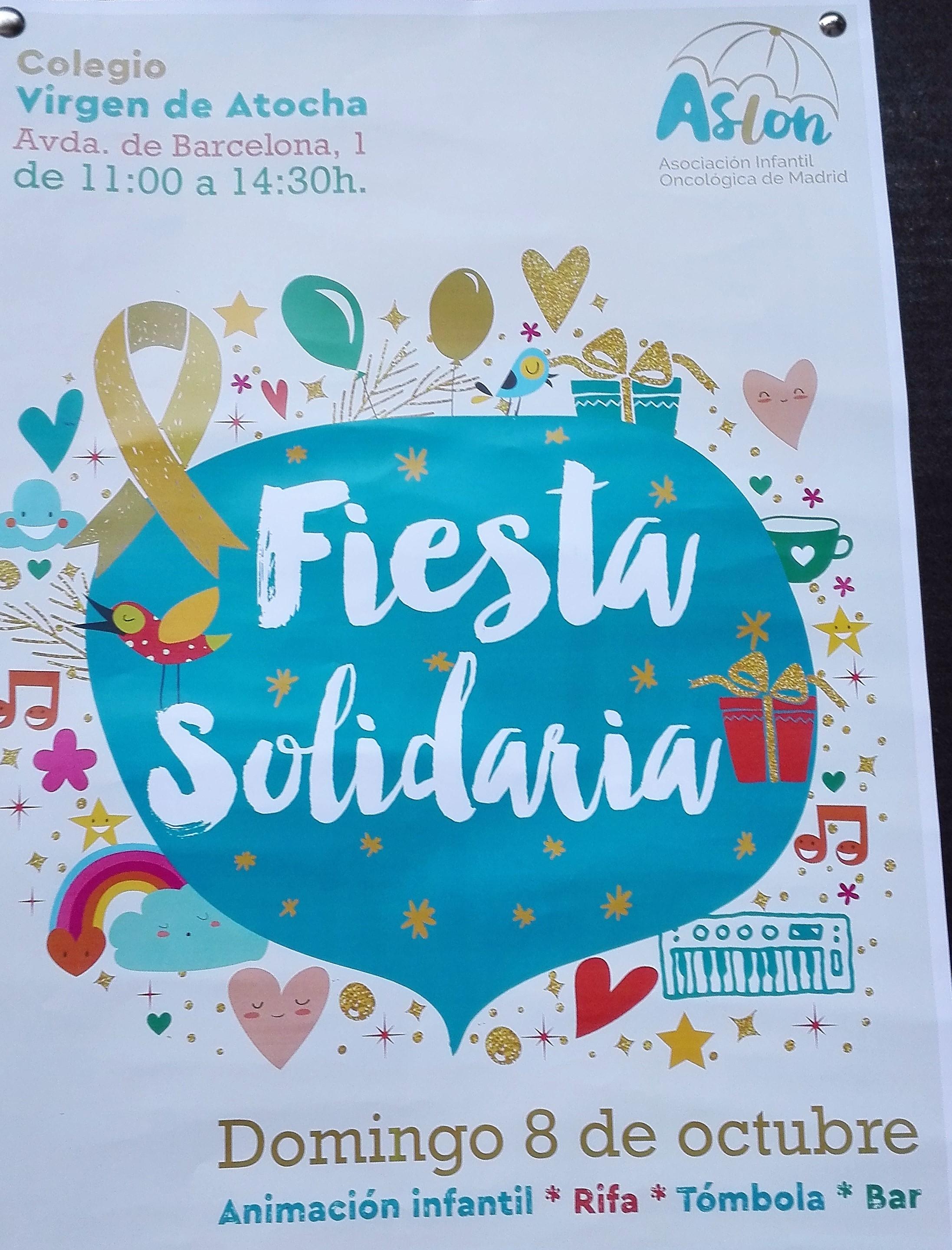 Fiesta solidaria en el colegio