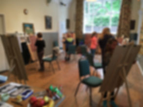 drawing, portraiture, art workshop, holiday club, art classes, children, young people, painting, face proportions, fine art for children, norwich