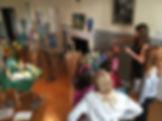 girl drawing, art evening classes, norwich art school, chalk, pastel art,