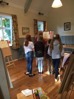 Watercolours workshop 3