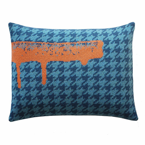 HOUNDSTOOTH DRIP PILLOW