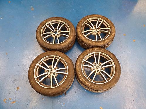 "Ford S550 18"" Factory Machined 5-spoke wheels"