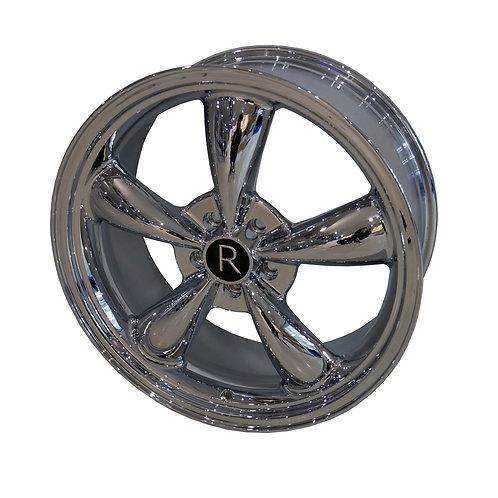 """20"""" chrome 'Bullitt' 5-spokes (S197+S550)"""