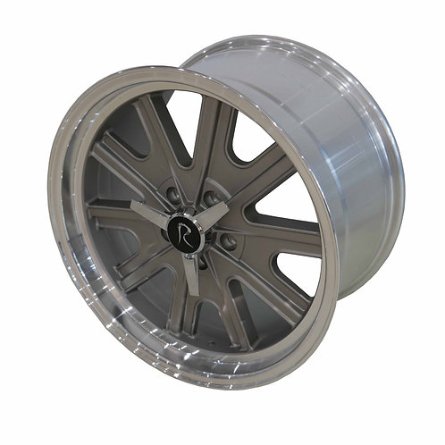 """18""""'Halibrand-style' wheels with spinners (S197)"""