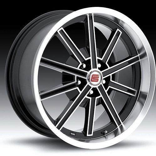 "Carroll Shelby Wheel Co. 18"" CS67 Black"