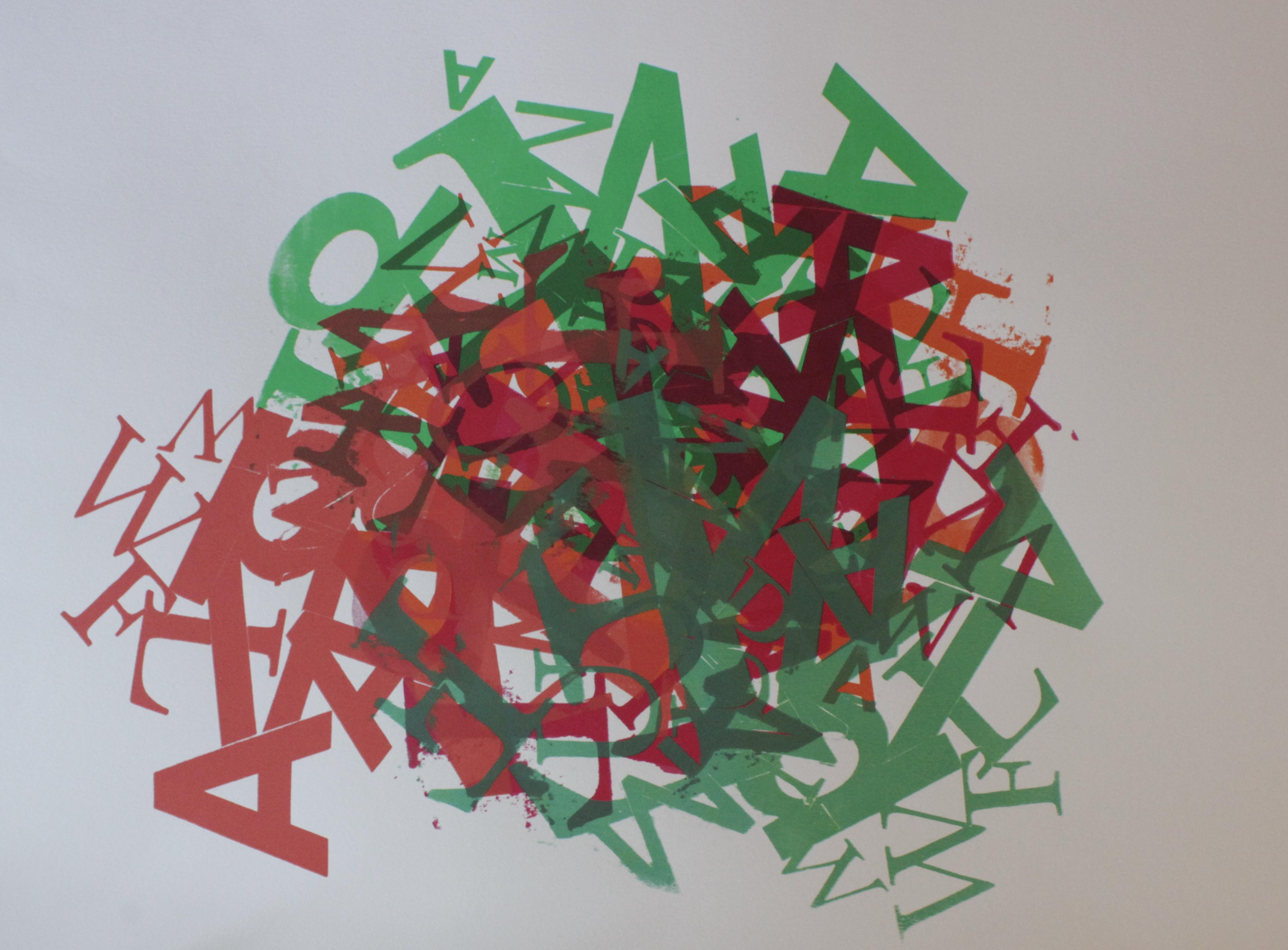 Buchstabengestöber