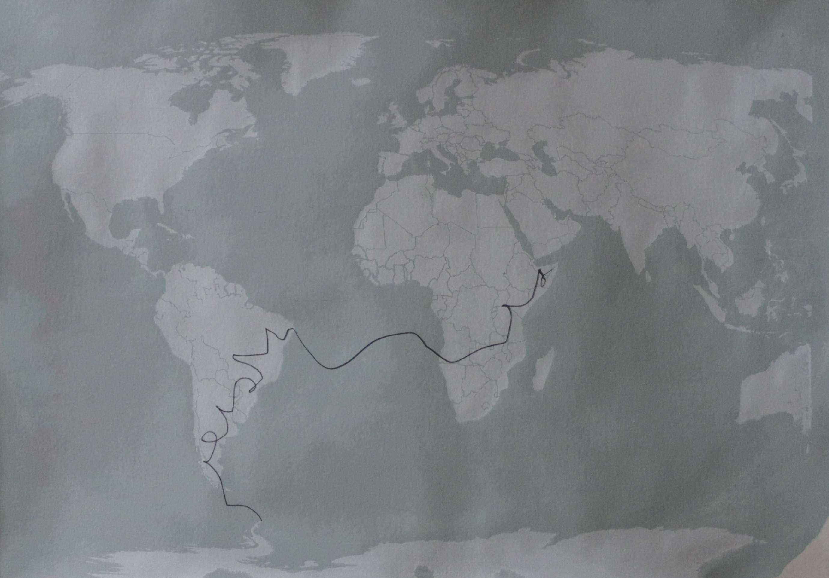 Weltkarte III