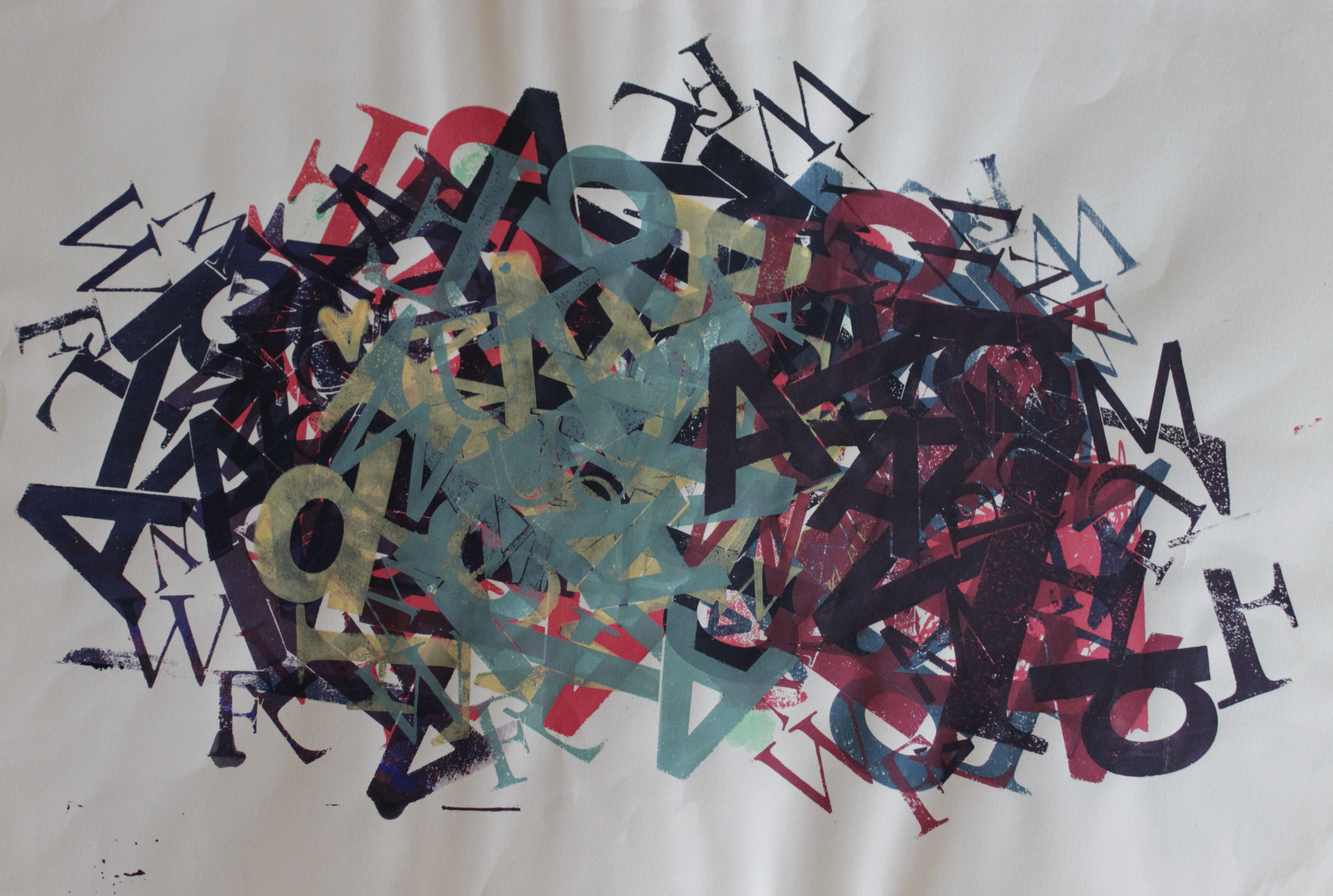 Buchstabenhaufen