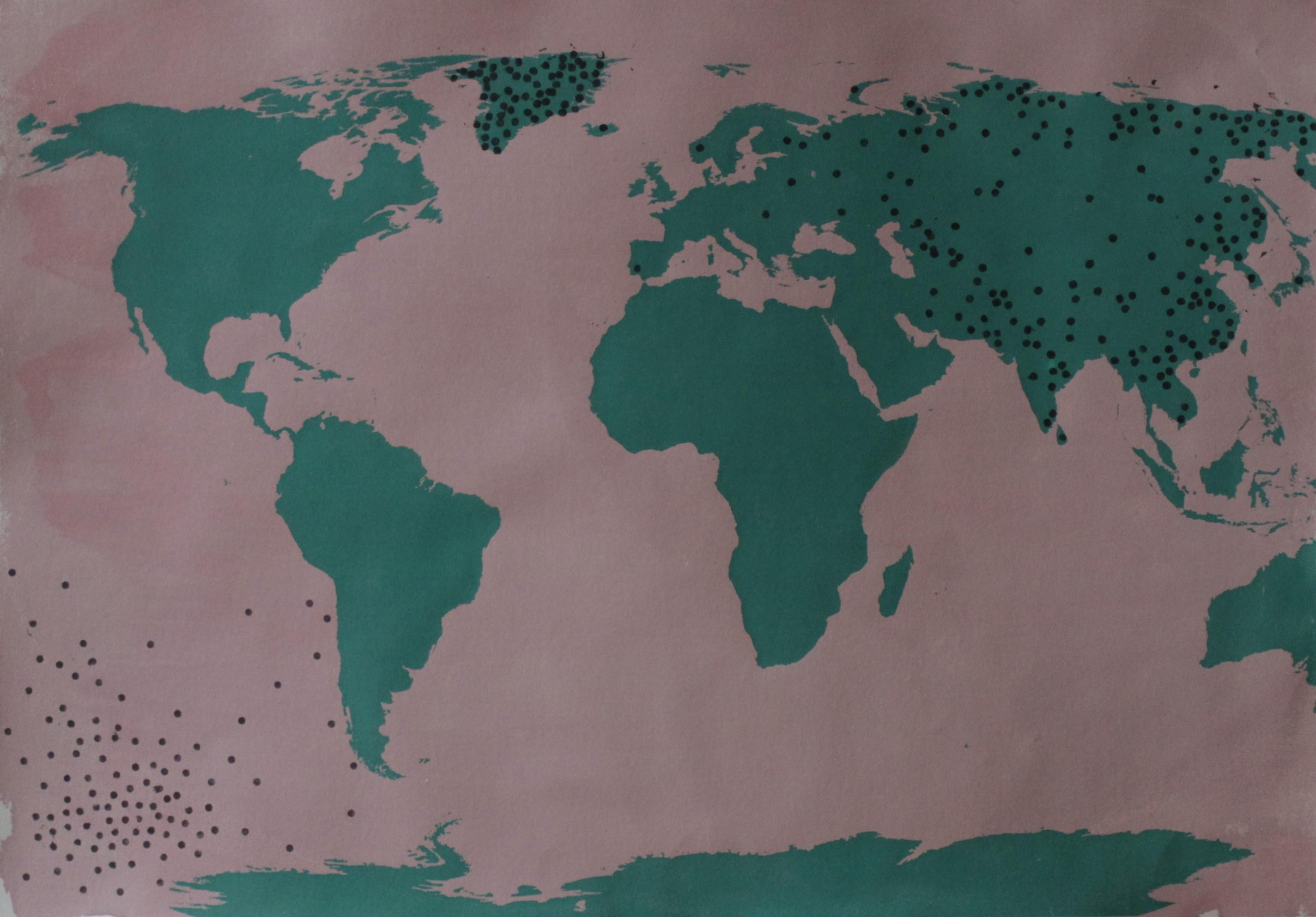 Weltkarte V