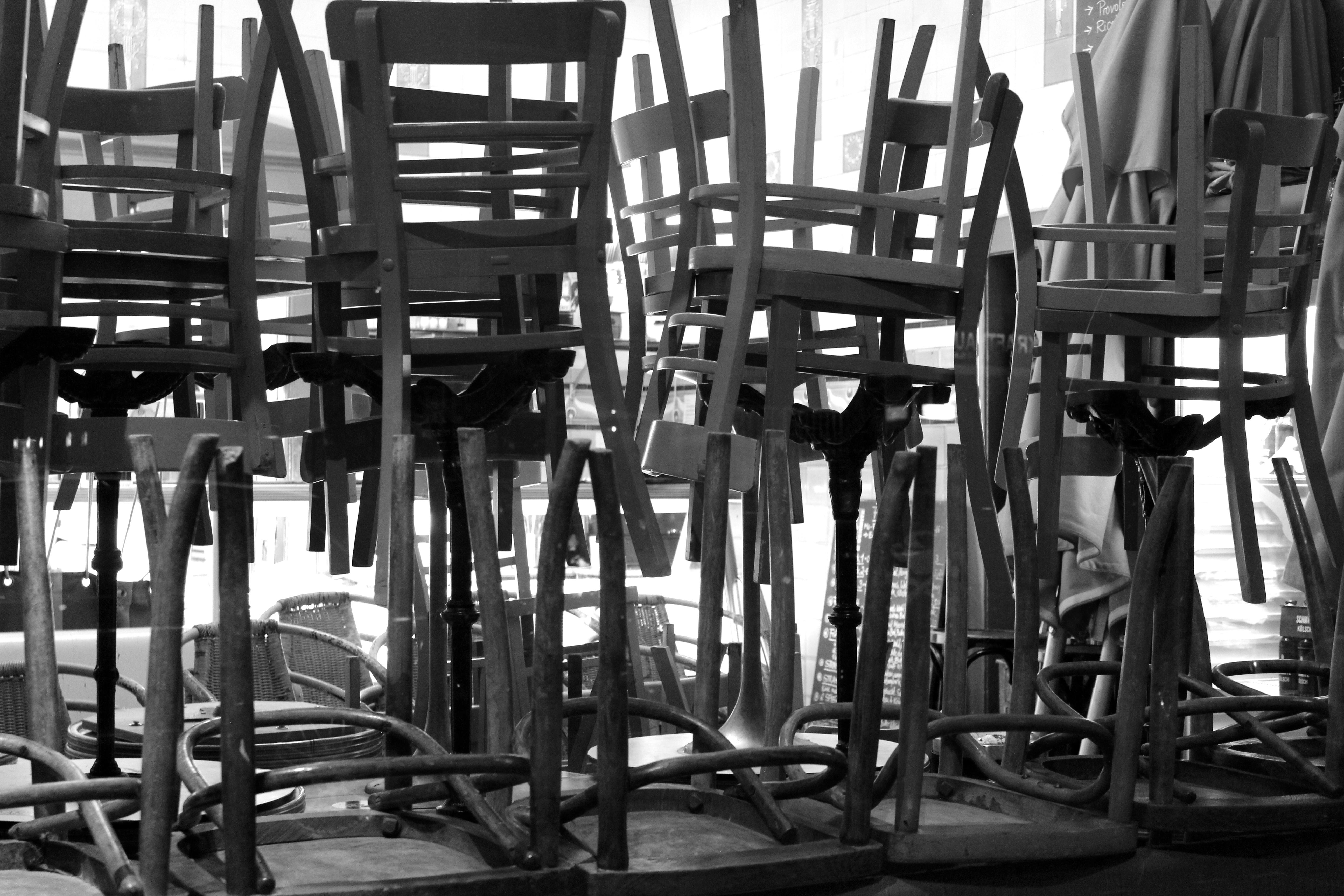 Stühle/Stapel