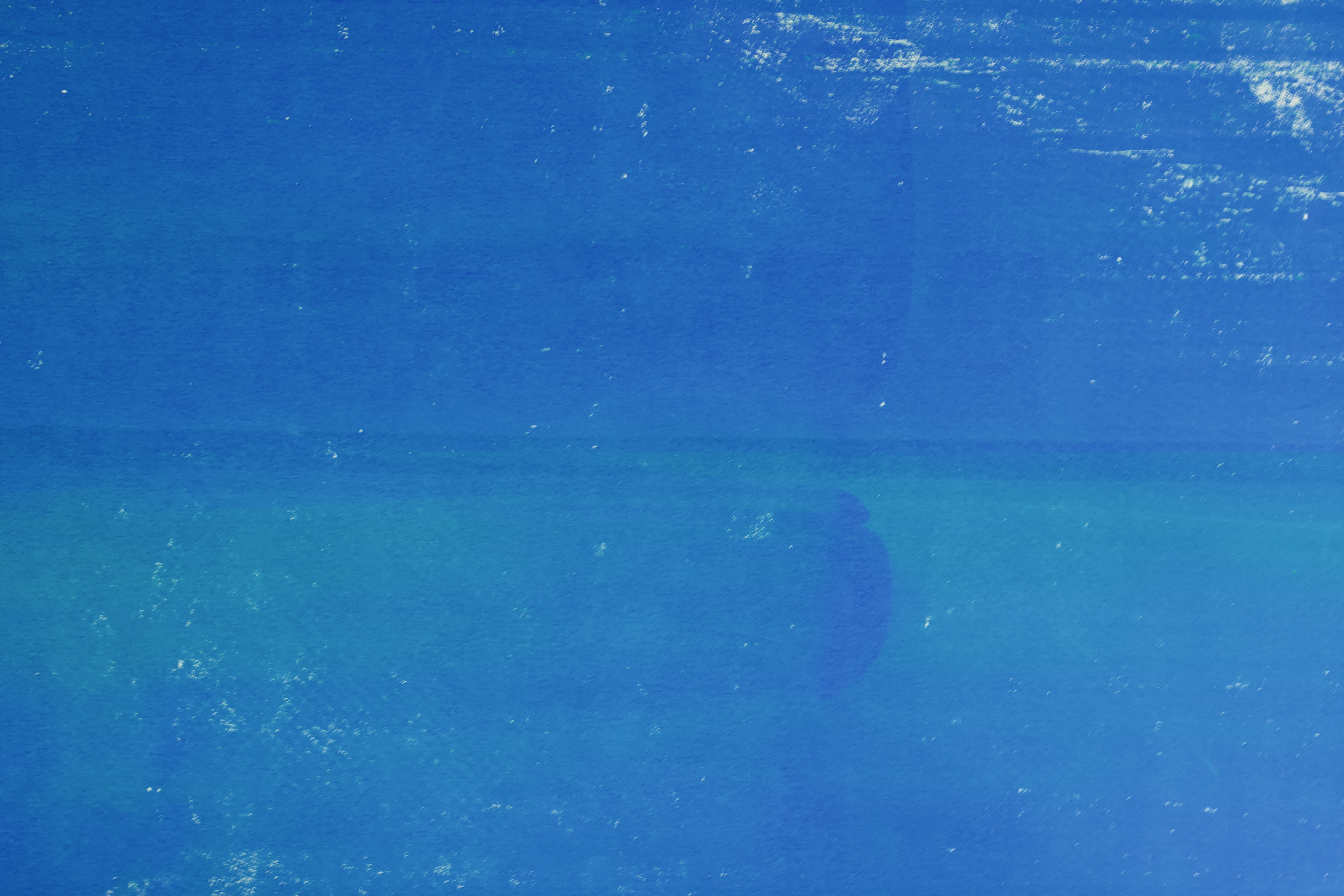 blau drucken