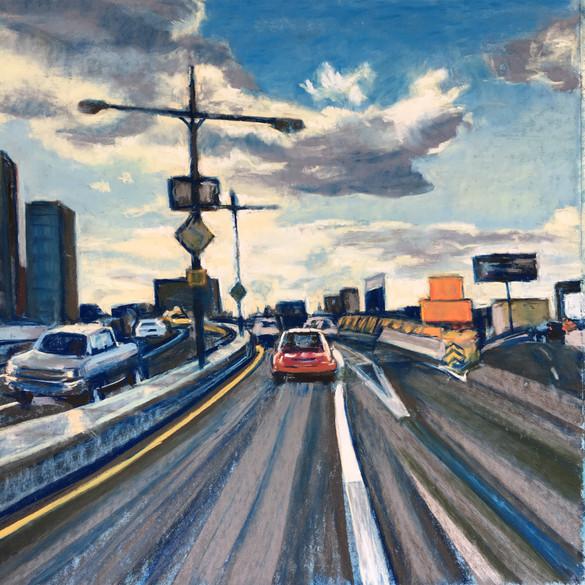 Midday, Highway Shot, 2016