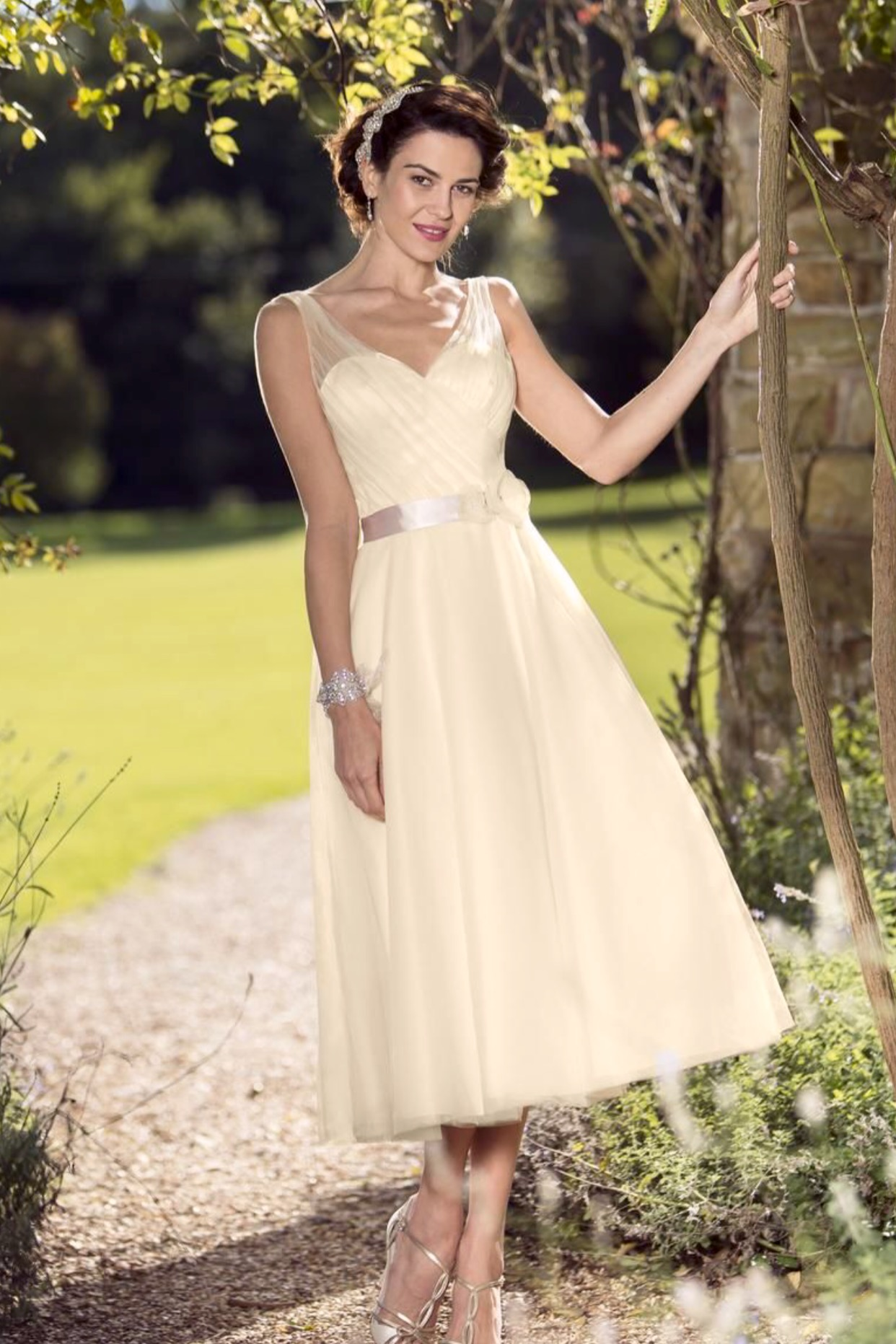 096a163b29c4 Perfect for brides who are on a strict budget or haven't got time to wait  to order a new dress.