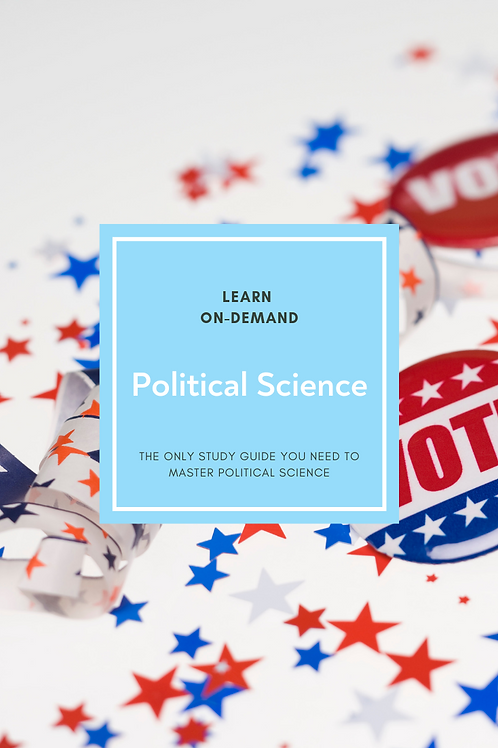 Learn College Political Science