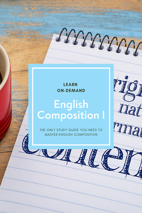 Learn English Composition I