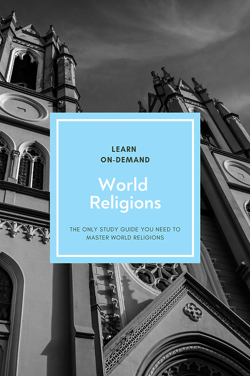 Learn College Study of World Religions