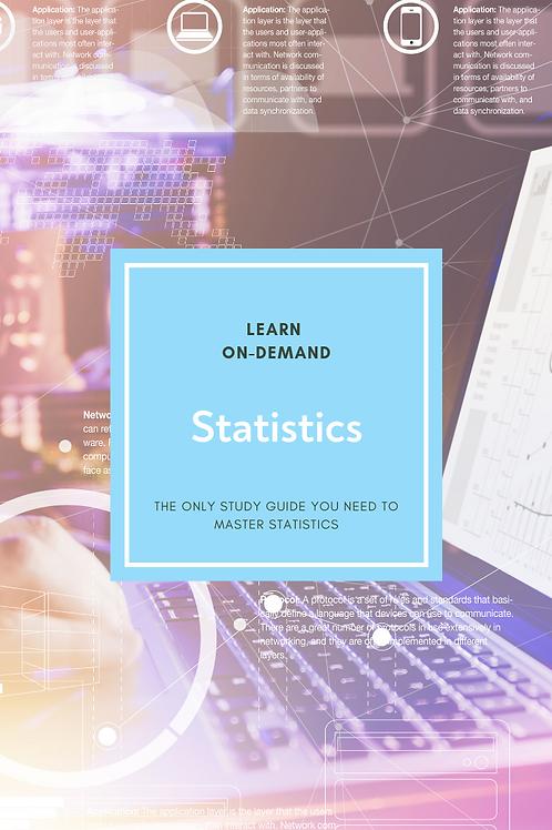 Learn College Statistics