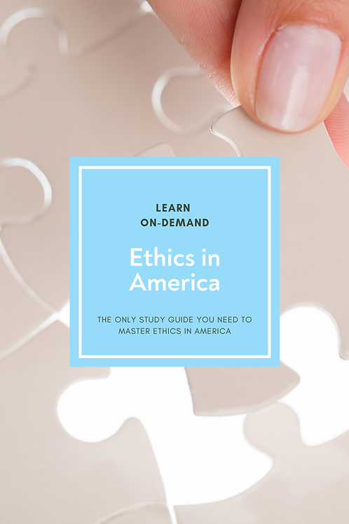 Learn College Ethics in America