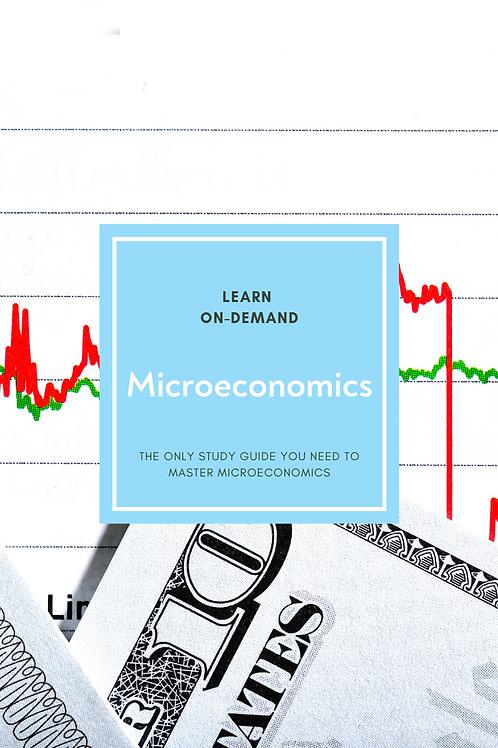 Learn College Microeconomics