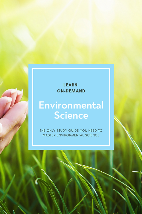 Learn College Environmental Science