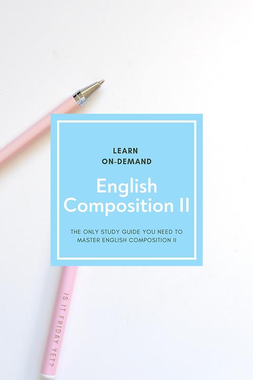 Learn English Composition II