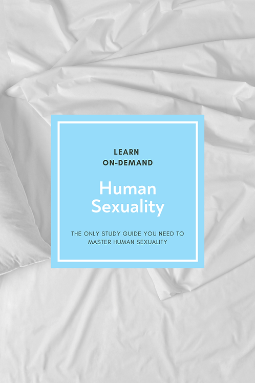 Learn College Human Sexuality