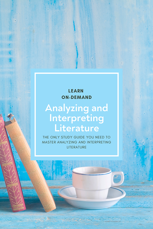 Learn College Analyzing and Interpreting Literature