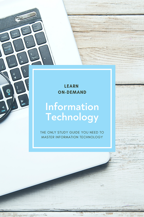 Learn College Information Technology