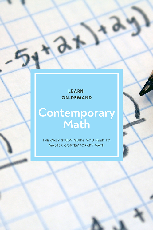Learn College Contemporary Math