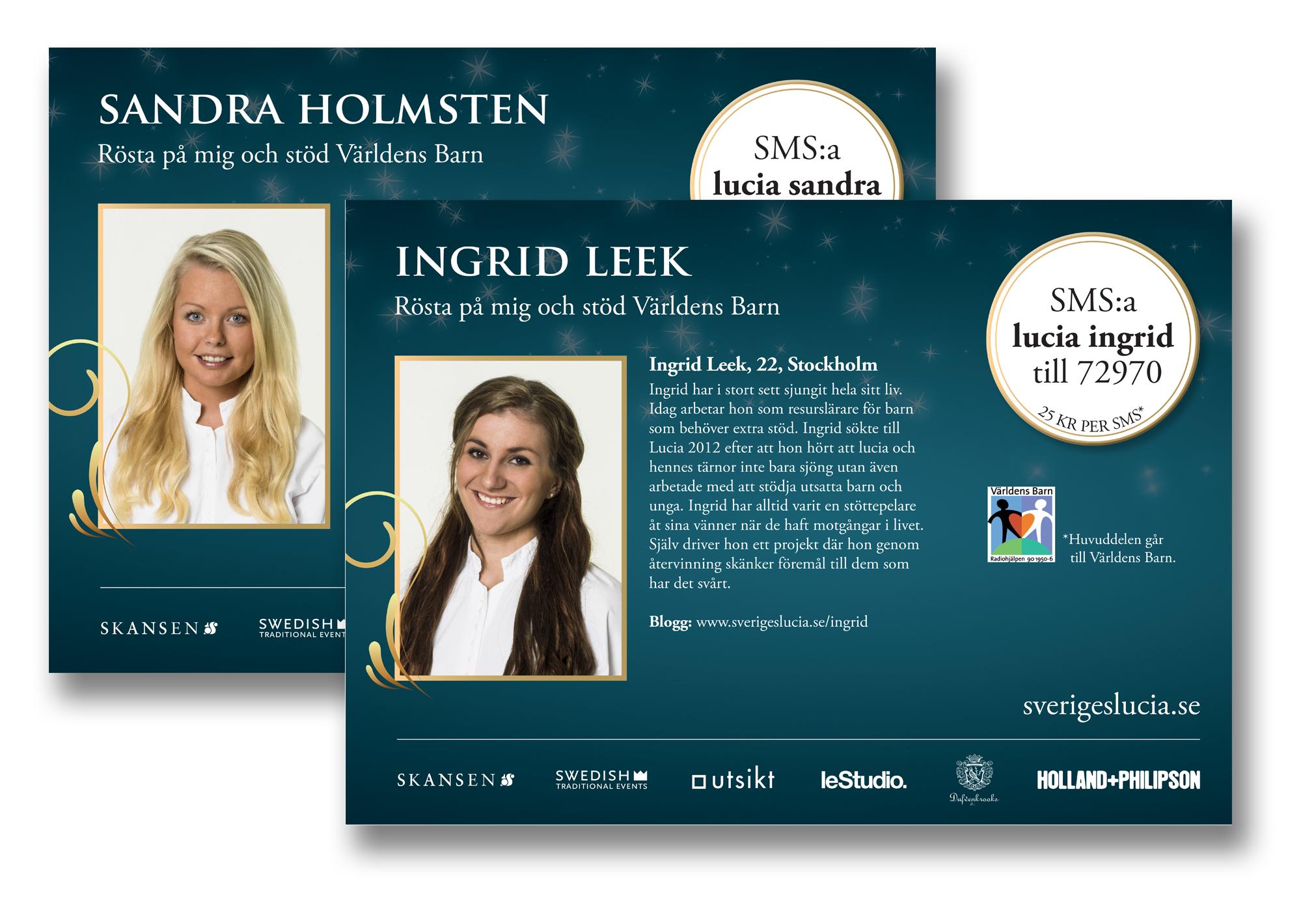 Design of units Sweden Lucia